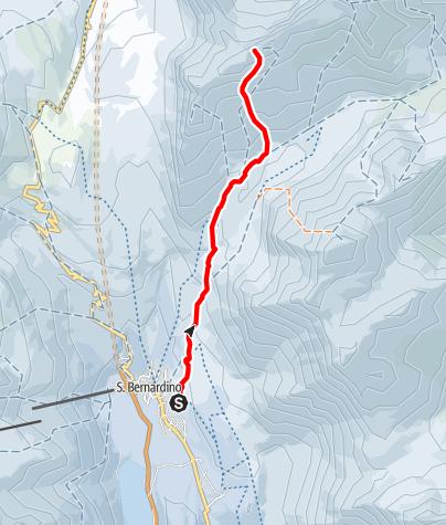 Map / 401 - Piz Cavriola