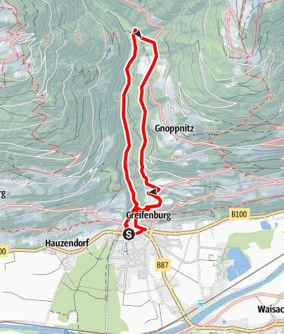 Karte / Wassererlebnisweg