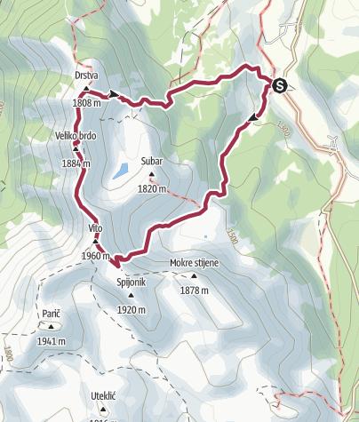 Map / Tušila - Vito - Drstva