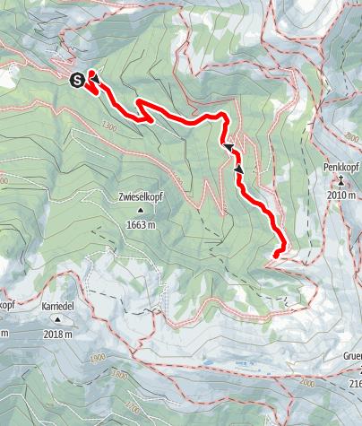 Karte / Großarl: Großwildalm