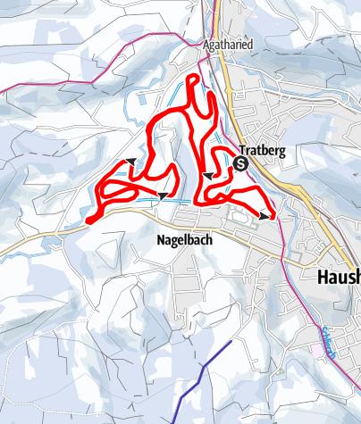 Karte / Haushamer Sportplatzloipe