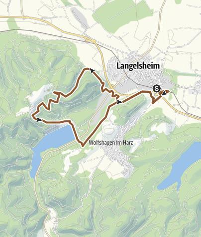 Karte / L1 Kleine Wasser-Tour