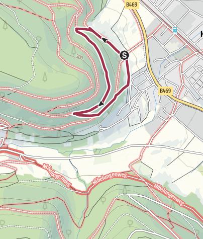 Karte / Dr. Götz-Gedankweg