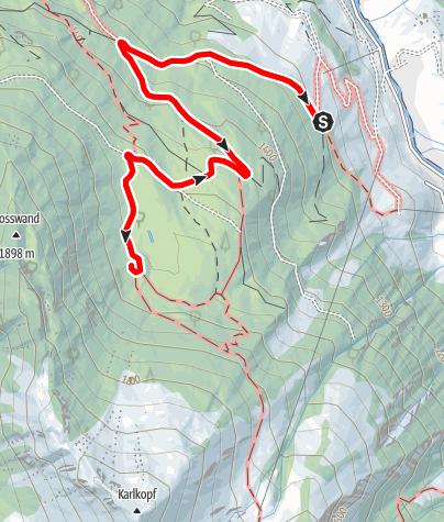 Map / Hüttschlag: Hirschgrubenalm