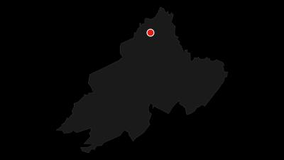 Karte / Vierbergeweg Etappe 1 St. Veit - Magdalensberg