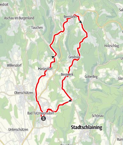 Karte / B53 (L7) Edelserpentin-Radwanderweg