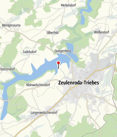 Karte / Tourismuszentrum Zeulenrodaer Meer