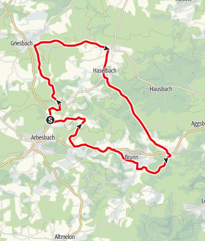 Karte / Stockzahnweg