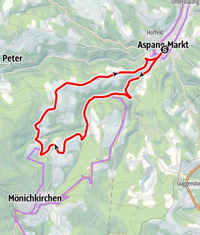 Mapa / Murtaler Höhenweg