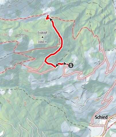 Map / Grossarl: Igltalalm (Niggeltalalm)