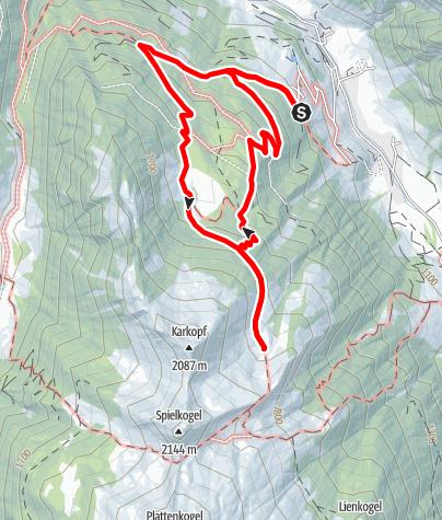 Karte / Hüttschlag: Hirschgrubenalm - Aschlreitalm