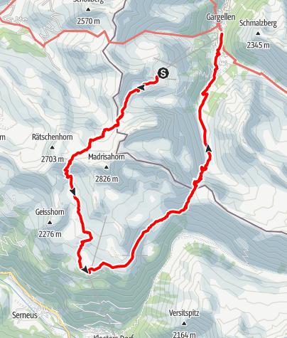 Map / Schmugglertour (2-tägig) - Auf den Spuren der Säumer und Schmuggler