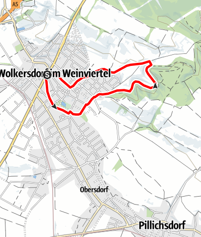 Karte / Wolkersdorf