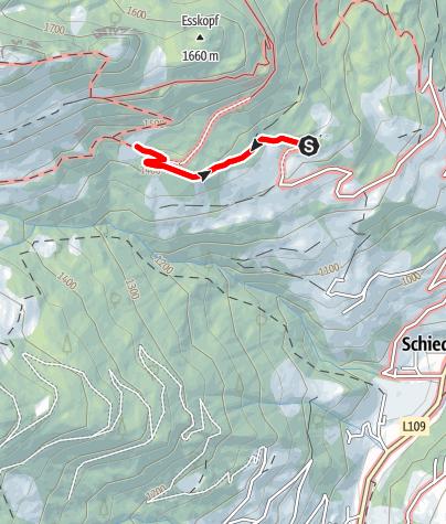 Map / Grossarl: Mooslehenalm
