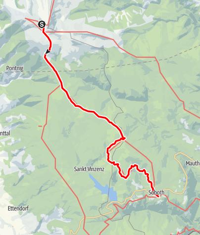Karte / Koralm Kristall Trail - 4. Tagesetappe