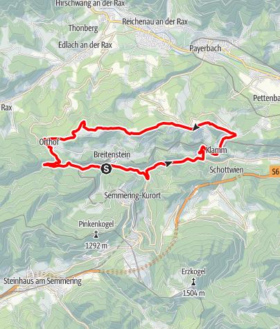 Karte / Kienberg - Strecke