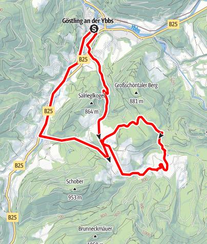 Map / Hochreit-Strecke