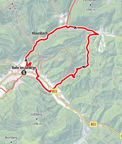 Mapa / Sagenumwobener Tümpflweg