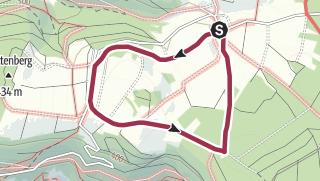 Karte / Rundwege im Ortsteil Reichartshausen - R 2
