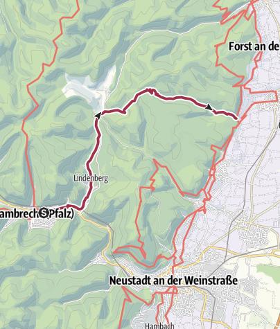 Map / Deidesheim - Geißbockweg