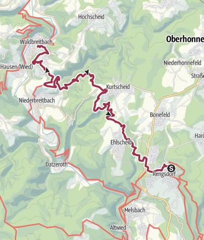 Carte / Wäller Tour Klosterweg
