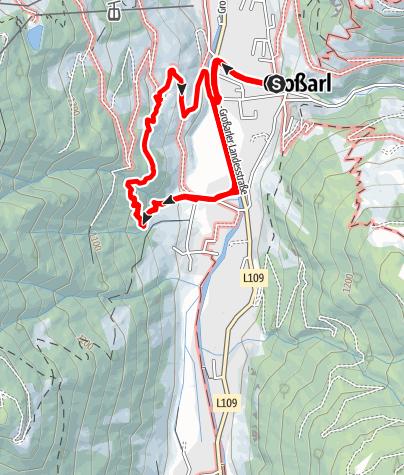 Karte / Großarl: Gretchen-Ruhe