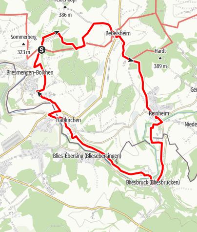 Map / Gräfinthaler Weg
