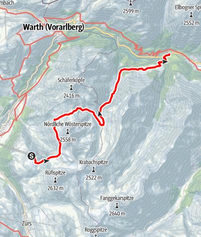 Karte / Bockbachtal