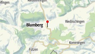 Karte / Wohnmobilstellplatz Bahnhof Blumberg-Zollhaus