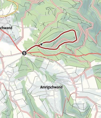 Karte / Höchenschwand: Waldlehrpfad
