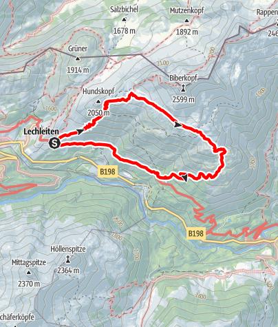 Karte / Mäuerleshütte