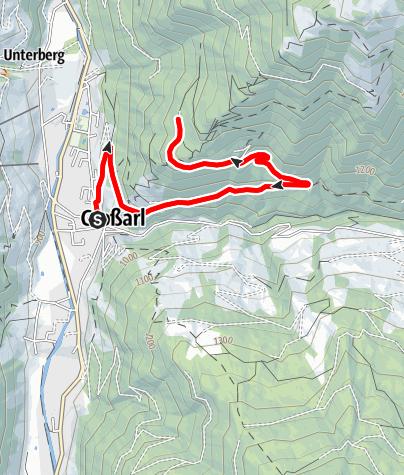Karte / Großarl: Vorderstadluck