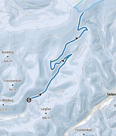 Karte / Verbindung Lonau - Ackerstraße