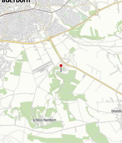 Karte / Paderborn: Spielplatz im Haxtergrund