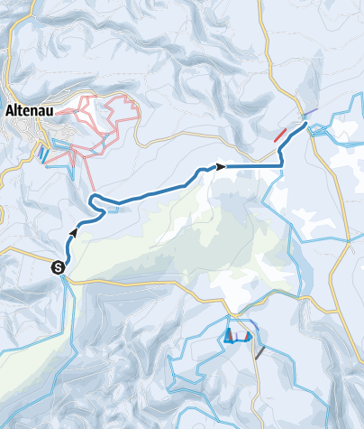 Karte / Verbindung Stieglitzeck - Torfhaus