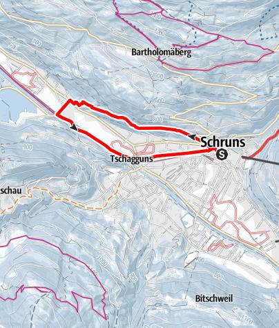Map / Circuit Trail via Gauenstein
