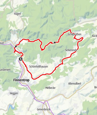 Karte / Frettertalrunde - Tour Nr. 42