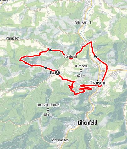 Karte / Öko-Dorf-Strecke
