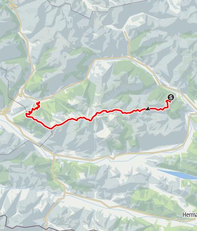Karte / Kreuzeck-Höhenweg