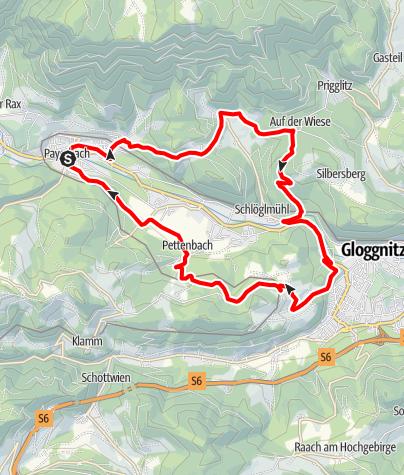 Mapa / Grillenberg-Strecke