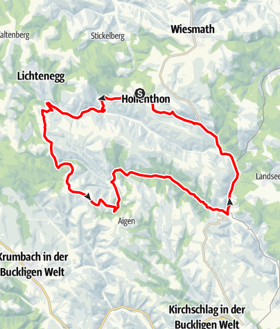 Mapa / Ums Tal der 7 Mühlen