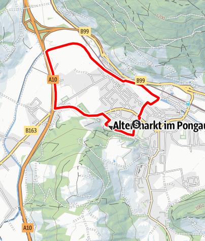 Karte / Enns-Runde Laufen