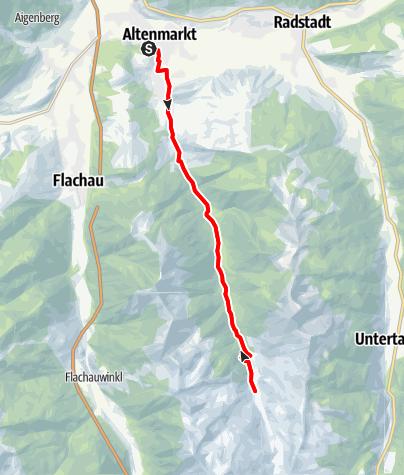 Karte / Zauchbach-Route (12)
