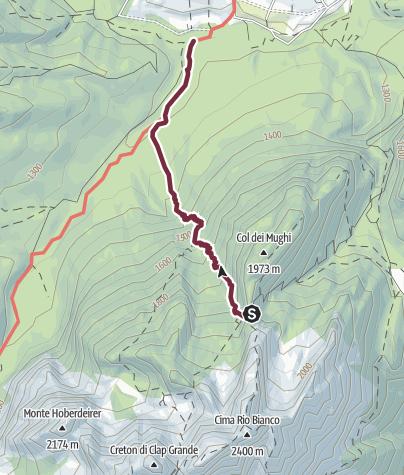 Map / 08 FROM THE ARCO PASS TO SAPPADA via CADIN DI FUORI - Sappada