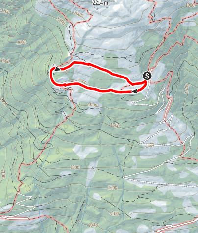 Karte / Almkräuter-Lehrfpad zur Weinberger Alm