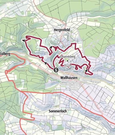 Kaart / Vitaltour Stein, Wein & Farbe