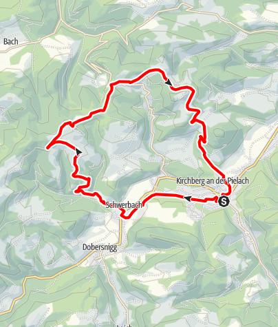 Karte / Fronberg-Luft-Route