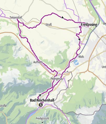 Karte / Biertour-Berchtesgadener Land
