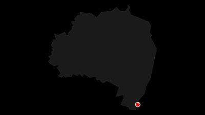 Mapa / Oder-Neiße-Radweg