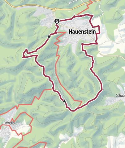 Karte / Hauensteiner Schusterpfad